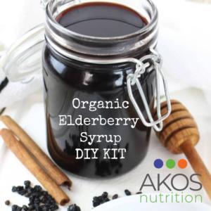 Organic Elderberry Syrup DIY Kit
